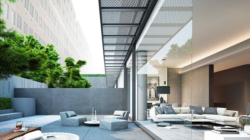 Soori High Line - Type A Unit - Indoor and Outdoor areas